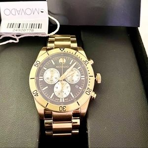 Movado Sports Chronograph Quartz // 0607440